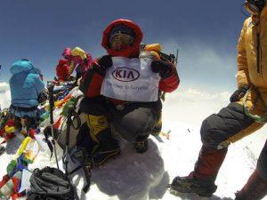Carla Pérez, la primera mujer latinoamericana que sube Everest sin oxígeno.