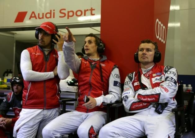 Lucas di Grassi, Oliver Jarvis y Marcel Fässler.
