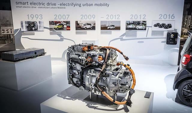 Motor-Renault-de-los-nuevos-Smart-eléctricos-y-evolución-de-las-cuatro-generaciones