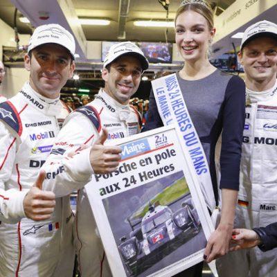 Porsche Team Romain Dumas, Neel Jani y Marc Lieb.