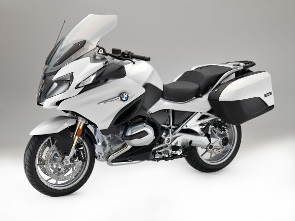 BMW R 1200 RT, Alpine white