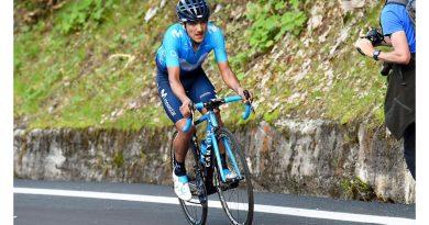 Richard Carapaz concluye cuarto en la edición 101 del Giro de Italia