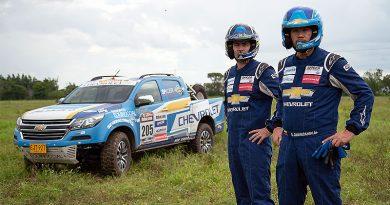 """Guayasamín y Chevrolet triunfan en Rally Raid """"Meta 500"""""""