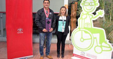 Casabaca con campeón de Ironman 70.3 en categoría Paralímpica