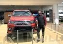 Casabaca exhibió la Toyota Hilux Show en su agencia Cumbayá