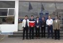 Ejecutivos visitaron nuevo concesionario Foton en Ambato