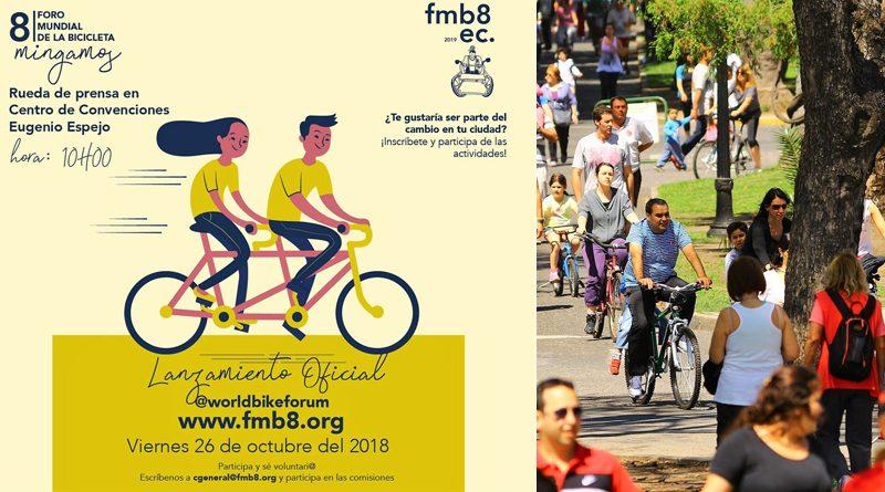 Octavo Foro Mundial de la Bicicleta será en Quito – Ecuador