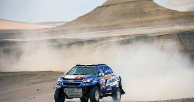 Guayasamín y Lípez superan las dunas de Marcona en 7a etapa