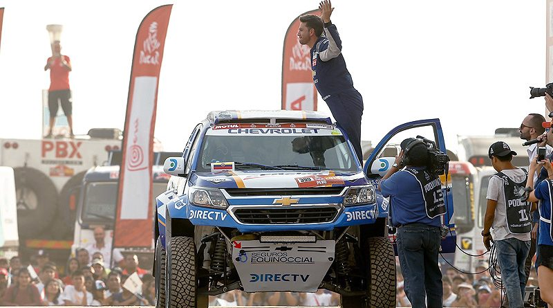 Team Chevrolet Dakar Supera 2 D 237 As De Arena Auto Magazine