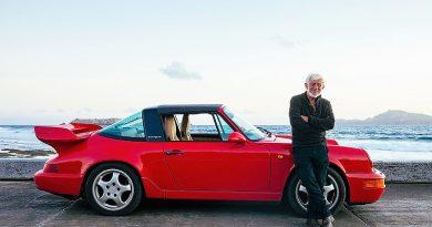 Una isla entera para un solitario Porsche 911