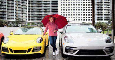 Angelique Kerber bajo la lluvia de Miami