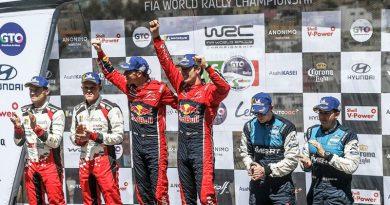 Sébastien Ogier logra su quinta victoria en el Rallye de México