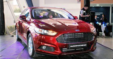 Quito Motors presentó el nuevo sedán Ford Mondeo SE 2019