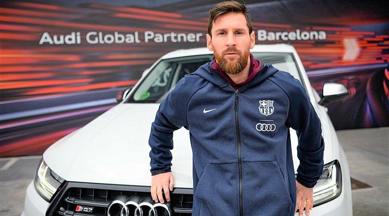 Los jugadores del FC Barcelona reciben nuevos vehículos Audi