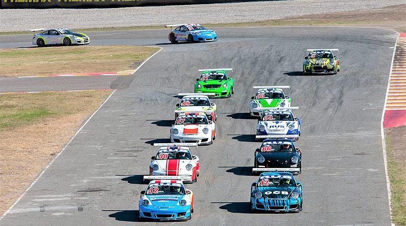 Podios para Ecuador en inicio de la Porsche GT3 Cup Trophy Argentina
