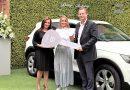 Clienta de Paseo San Francisco recibió su Volvo XC40
