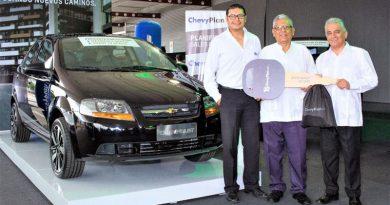 Chevrolet Aveo No. 70.000 se entregó a cliente de ChevyPlan