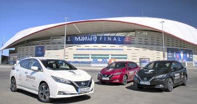 Nissan LEAF electrifica la final de la UEFA Champions League 2019