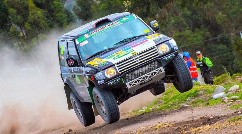 Carreño y Freire ganan 3ra válida del Nacional de Rally en TT