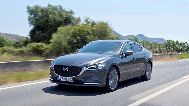 Mazda 6 recibe el premio Top Safety Pick