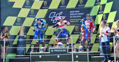 MotoGP: Triunfo y caída múltiple consolidan a Marc Márquez