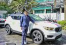Volvo Car Ecuador movilizó a Richard Carapaz