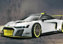 Estreno del Audi R8 LMS GT2 en el «Goodwood Festival of Speed»