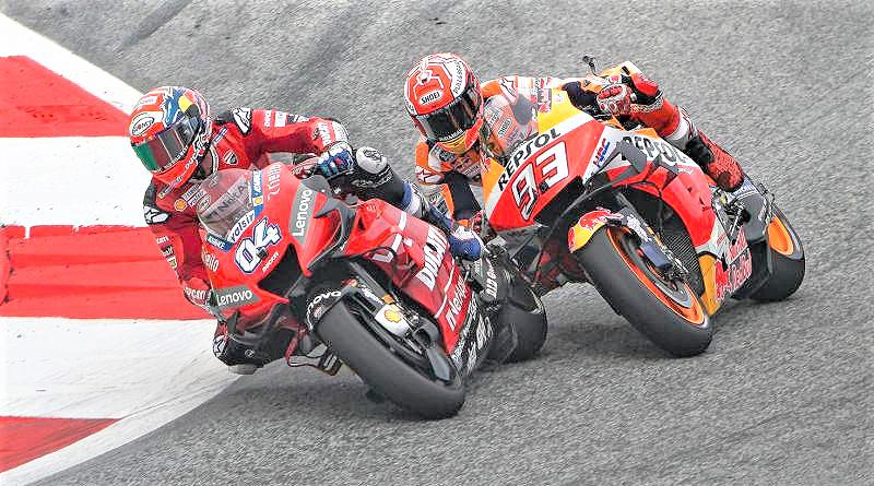 MotoGP: 'Dovi' supera a Márquez en un duelo de época en Austria