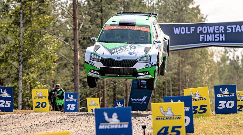 WRC 2 en Finlandia: Cuarta victoria consecutiva de Kalle Rovanperä
