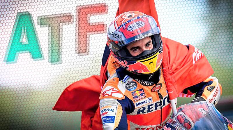 MotoGP: Márquez conquista la pelea a cuatro bandas de Brno