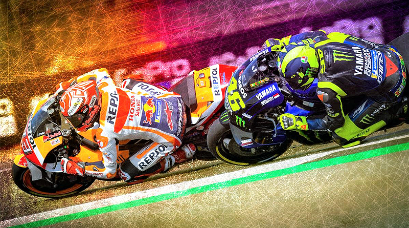 Márquez resiste ante Rossi para conquistar la 'pole' en Silverstone