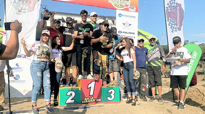 Nicolás Pesantez de Guayas ganó la Baja Manabí 500