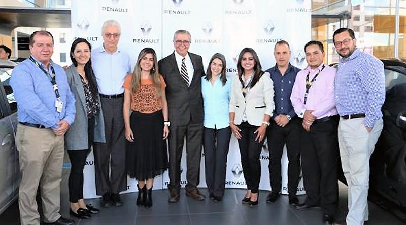 Ejecutivos internacionales de Renault visitaron Ecuador