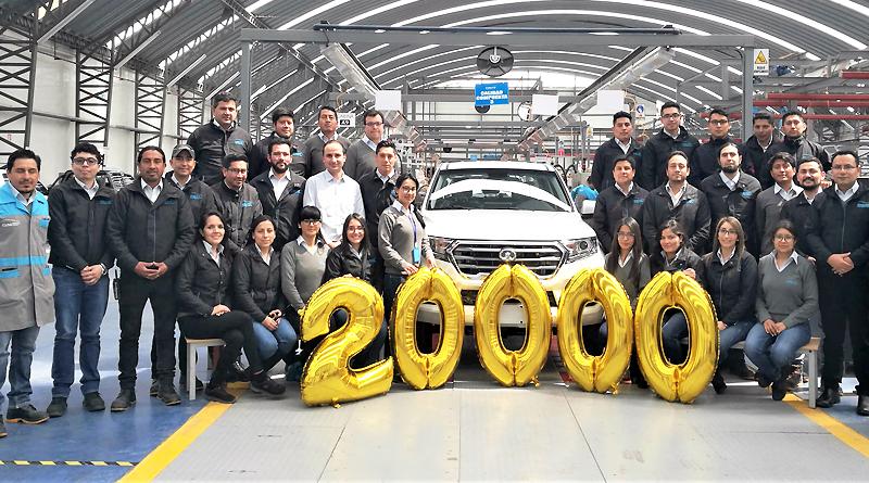 Ciauto en Ecuador ha ensamblado 20.000 vehículos para Latinoamérica