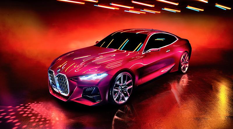 BMW Concept 4: Esencia estética de un coupé moderno