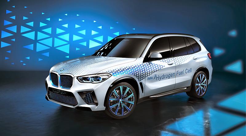 El BMW i Hydrogen NEXT en el Salón del Automóvil de Frankfurt 2019
