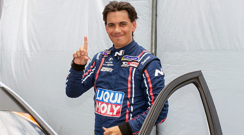 Dominio total de Diego Morán en la final del TCR Asia Series 2019