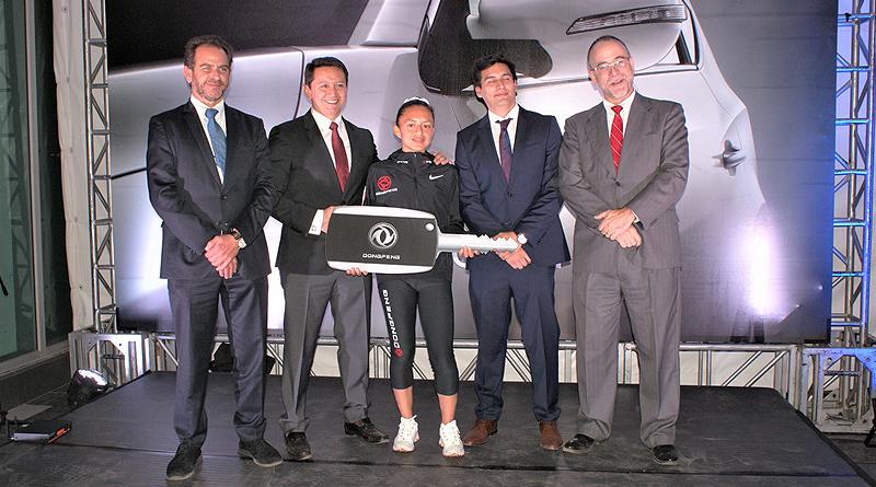 Dongfeng presenta nuevo SUV y su alianza con Glenda Morejón