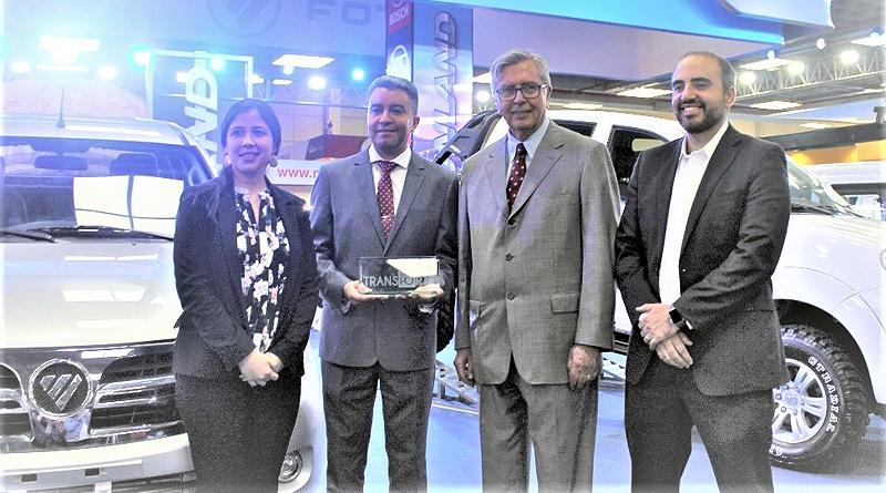 Foton ganó el premio al mejor stand en Expo Transporte 2019
