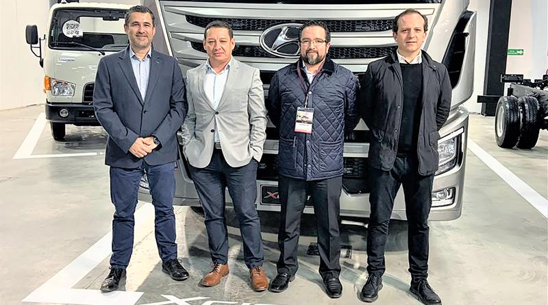 Hyundai presente en la feria Expo Transporte 2019