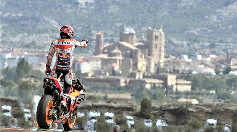 Márquez impone su ley en MotorLand y acaricia su sexto título en MotoGP