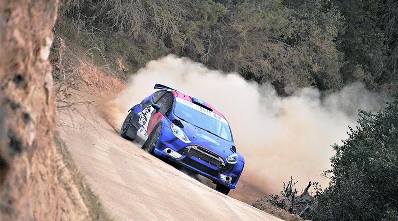 Navas Motorsport pone a punto su Ford Fiesta en Chile