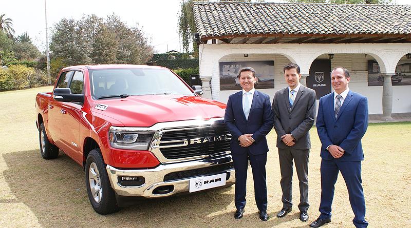 Nuevas Camionetas RAM 1500 DS, DT y periodistas homenajeados