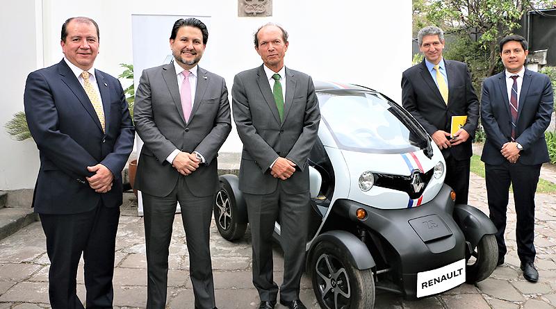 Renault dio charla sobre movilidad urbana, eléctrica y sostenible
