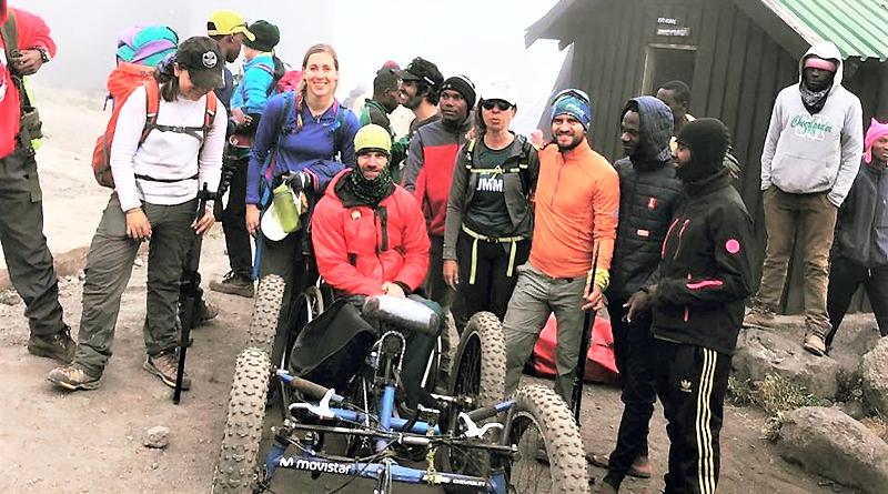 Chevrolet celebra la conquista de Sebastián Carrasco al Kilimanjaro
