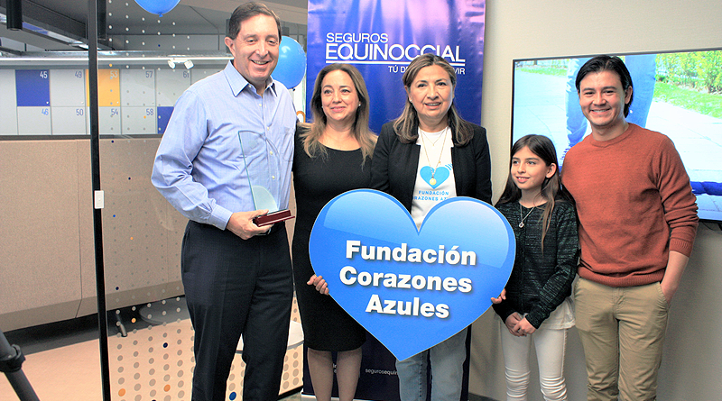 Seguros Equinoccial participa en campaña Corazones Azules