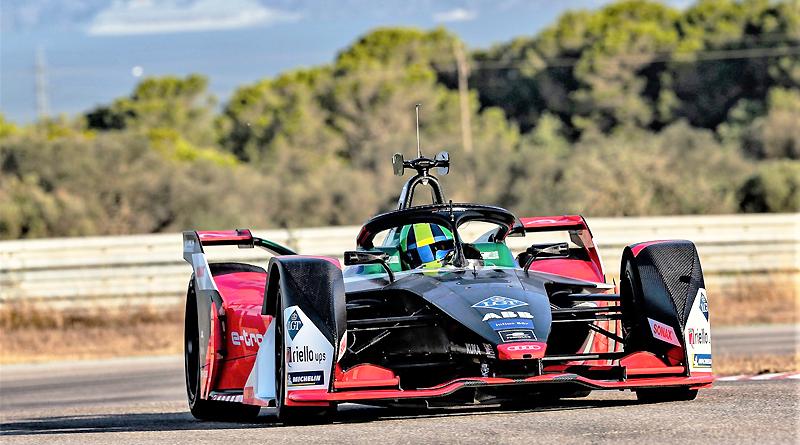 Fórmula E: espectacular diseño en pintura del nuevo Audi e-tron FE06