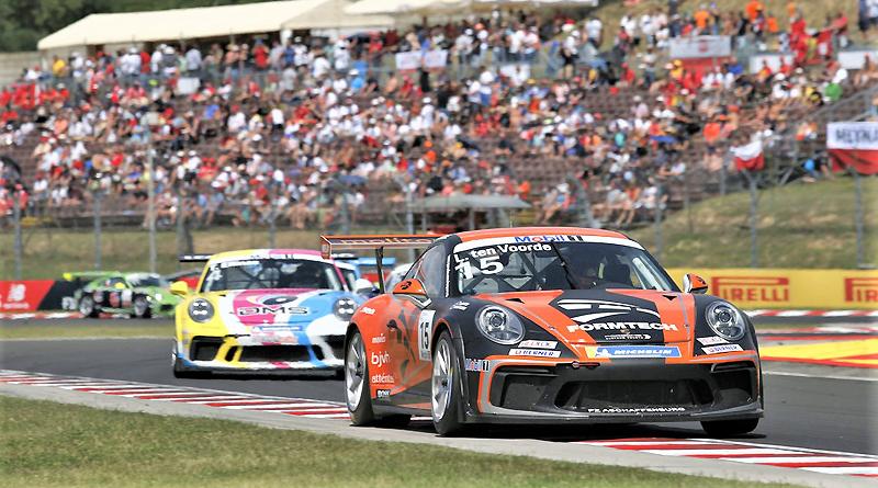 Emcionante final de la Copa Porsche en México acompañará a la F1