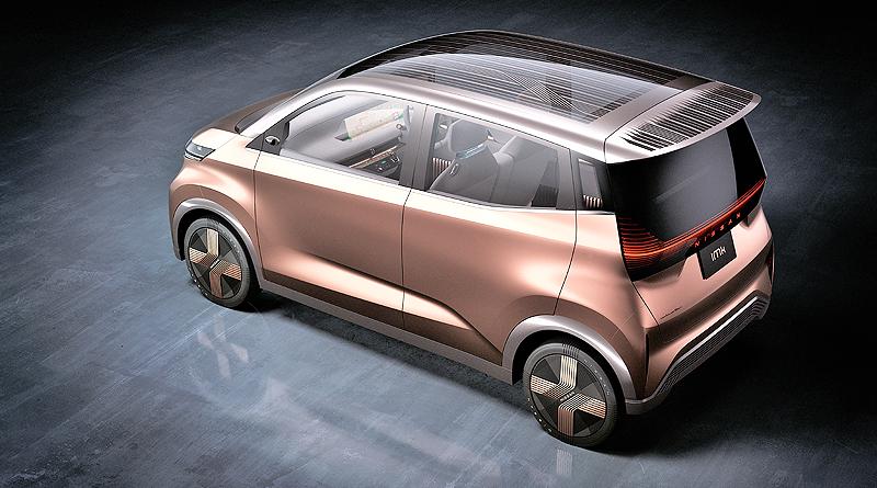 Nissan IMk: Prototipo eléctrico para viajeros urbanos modernos