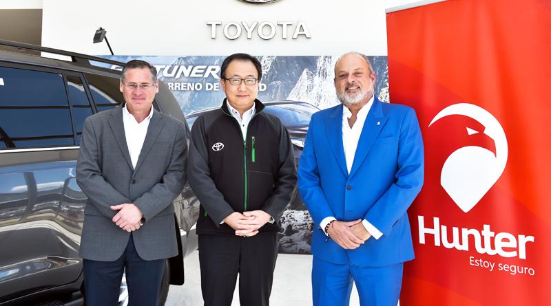 Toyota del Ecuador y Hunter renuevan convenio de cooperación